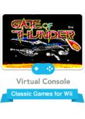 Gate of Thunder Wii Front Cover