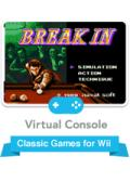 Break In Wii Front Cover