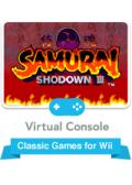 Samurai Shodown III: Blades of Blood Wii Front Cover
