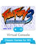 Fatal Fury 3: Road to the Final Victory Wii Front Cover