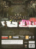 Disciples III: Resurrection Windows Back Cover