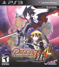 Disgaea 4: A Promise Unforgotten PlayStation 3 Front Cover