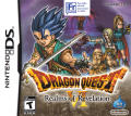 Dragon Quest VI: Realms of Revelation Nintendo DS Front Cover