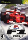 F1 2001 Xbox Front Cover