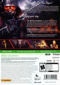 Fallout: New Vegas - Ultimate Edition Xbox 360 Back Cover