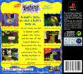 Rugrats: Search for Reptar PlayStation Back Cover