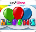 Bloons Nintendo DSi Front Cover