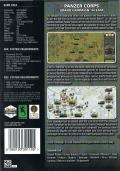 Panzer Corps: Grand Campaign '44 East Windows Back Cover