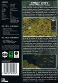 Panzer Corps: Grand Campaign '45 West Windows Back Cover
