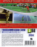 Virtua Tennis 4 PS Vita Back Cover