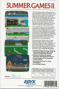 Summer Games II PC Booter Back Cover