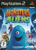 Monsters vs. Aliens PlayStation 2 Front Cover