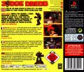 Judge Dredd PlayStation Back Cover
