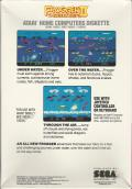 Frogger II: ThreeeDeep! Atari 8-bit Back Cover