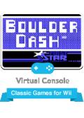 Boulder Dash Wii Front Cover