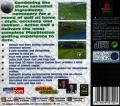 Actua Golf 3 PlayStation Back Cover