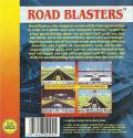 RoadBlasters Commodore 64 Back Cover