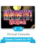 Ninja Master's Wii Front Cover
