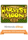 Harvest Moon GB Nintendo 3DS Front Cover