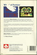 Wheel of Fortune DOS Back Cover