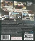 GRID PlayStation 3 Back Cover