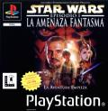 Star Wars: Episode I - The Phantom Menace PlayStation Front Cover