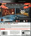 Alice: Madness Returns PlayStation 3 Back Cover