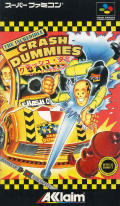 The Incredible Crash Dummies SNES Front Cover