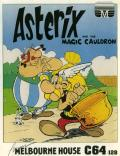 Asterix and the Magic Cauldron Commodore 64 Front Cover