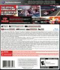 F1 2011 PlayStation 3 Back Cover