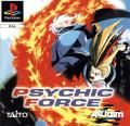 Psychic Force PlayStation Front Cover