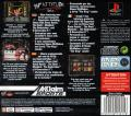 WWF Attitude PlayStation Back Cover