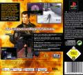 007: Tomorrow Never Dies PlayStation Back Cover