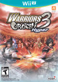 Warriors Orochi 3 Hyper Wii U Front Cover