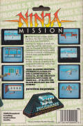 Ninja Atari ST Back Cover