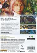 Final Fantasy XIII Xbox 360 Back Cover