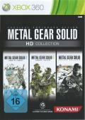 Metal Gear Solid HD Collection Xbox 360 Front Cover