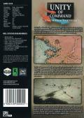 Unity of Command: Stalingrad Campaign Windows Back Cover