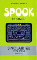 Spook Sinclair QL Front Cover