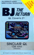 BJ the Return: QL Caverns 2 Sinclair QL Front Cover