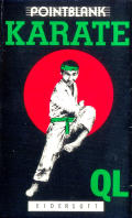Karate Sinclair QL Front Cover