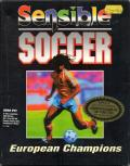 Sensible Soccer: European Champions: 92/93 Edition DOS Front Cover