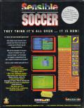 Sensible Soccer: European Champions: 92/93 Edition DOS Back Cover