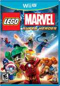 LEGO Marvel Super Heroes Wii U Front Cover