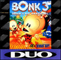 Bonk 3: Bonk's Big Adventure TurboGrafx-16 Front Cover