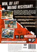 Urban Reign PlayStation 2 Back Cover