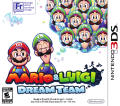 Mario & Luigi: Dream Team Nintendo 3DS Front Cover
