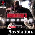 Resident Evil 3: Nemesis PlayStation Front Cover