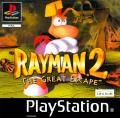 Rayman 2: The Great Escape PlayStation Front Cover