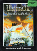 Ultima IV: Quest of the Avatar Amiga Front Cover